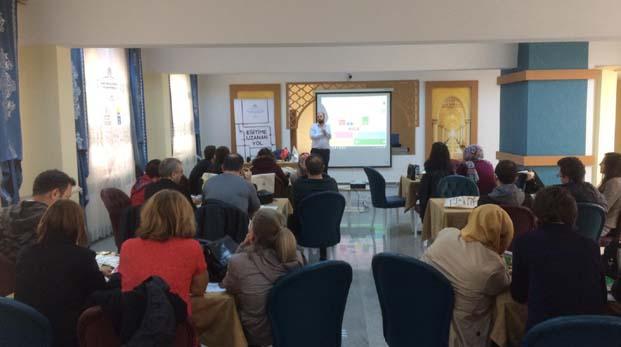 Tohum Otizm Vakfı Kütahya'da Eğitim Atölyeleri düzenledi