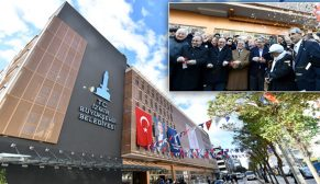 İzmir Karşıyaka Alaybey'in 7 katlı otoparkı açıldı