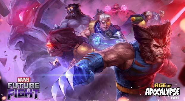 MARVEL Future Fight'ta X-Men ile Apocalypse savaşıyor