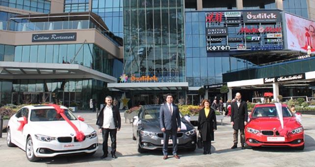 ÖzdilekPark İstanbul'da 3 BMW sahibini buldu