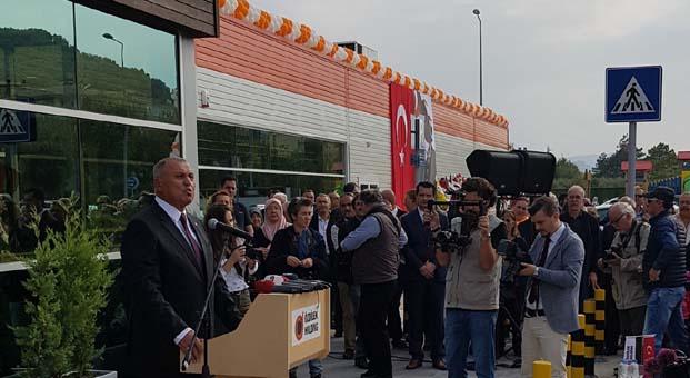 Özdilek Holding 7. hipermarketini Mudanya'ya açtı