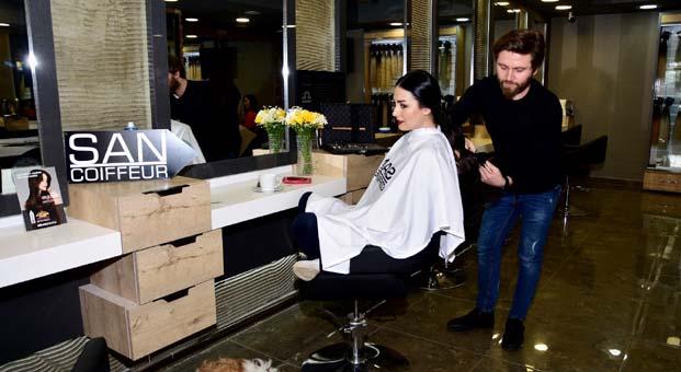 Özlem Yılmaz da 'Saçım Saçın Olsun' dedi