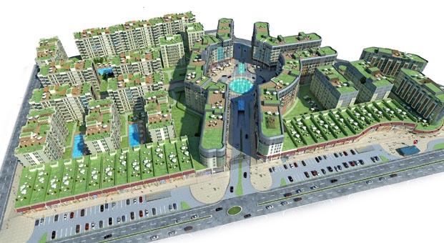 Özyurtlar Holding'in yeni projesi Meydan Ardıçlı'da ön satışlar başladı