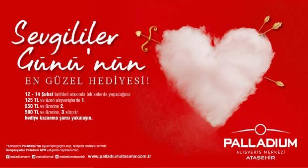 Palladium Ataşehir'den Sevgililer Günü kampanyası