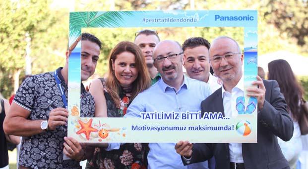Panasonic'ten çalışanlarına sürpriz hoş geldin organizasyonu
