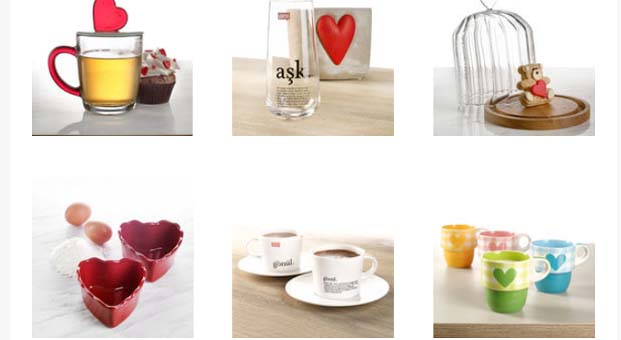 Paşabahçe Mağazaları'ndan Sevgililer Günü'ne özel hediye seçenekleri