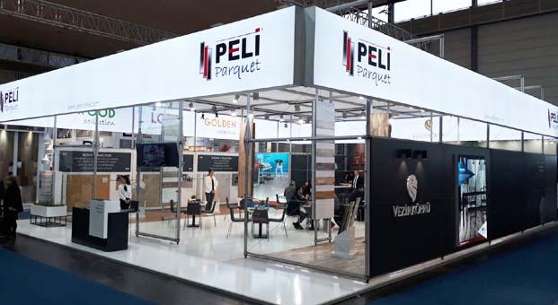Peli Parquet Domotex'te yeniliklerini tanıttı