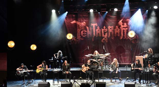 Harbiye 14 yıl aradan sonra Pentagram şarkıları ile inledi