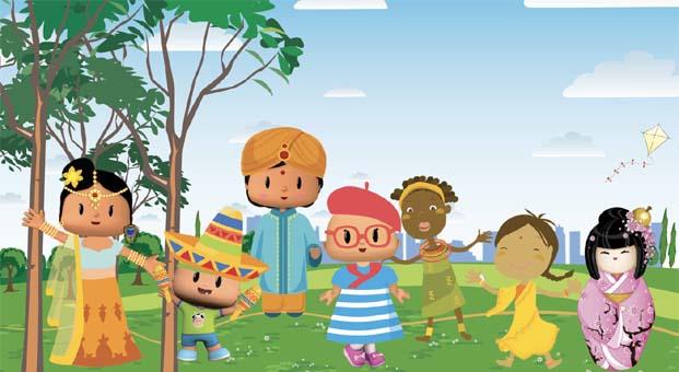 Türk çizgi filmi 6 farklı dilde çocuklara seslenecek