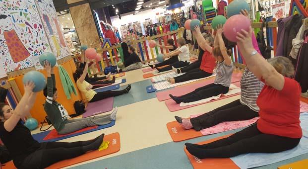 Kozzy AVM'de Pilates Günleri başlıyor