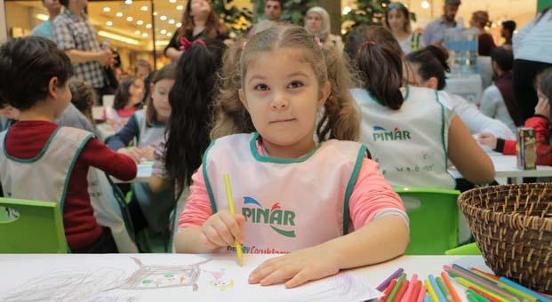 Pınar Çocuk Resim Atölyesi Bursalı çocuklarla buluşuyor