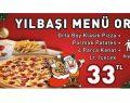 Little Caesars Pizza'da yılbaşına özel Çok Ye Az Öde Kampanyası
