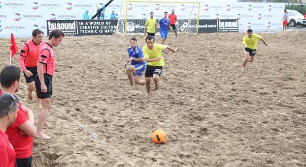 Avrupa Plaj Futbolu Şampiyonası İstanbul Cup 2018 Vadistanbul'da başladı