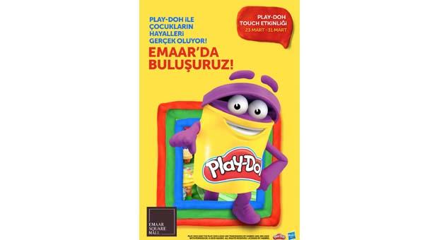 Play-Doh ile çocukların hayalleriEmaar Mall'da gerçek oluyor
