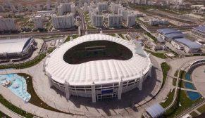 Polimeks'in Türkmenistan'da AIMAG Oyunları için yaptığı tesisler Rekorlar Kitabına girdi