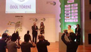Polisan Holding'e İstanbul Karbon Zirvesi'nden ödül