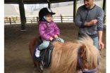 İncek Loft'ta 110 çocuk Pony atlarla'Bahara Merhaba' dedi