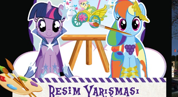 My Little Pony Resim Yarışması başladı