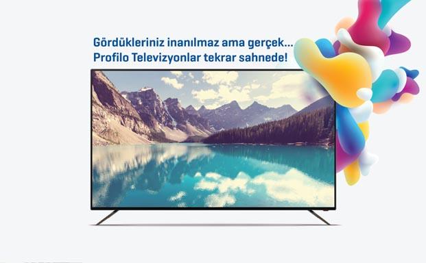 Yepyeni Profilo televizyonlar gerçekliği evinize getiriyor
