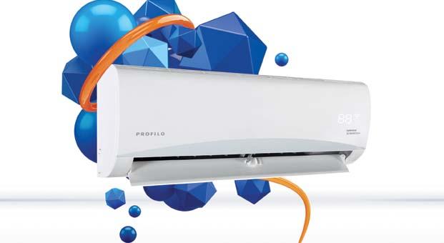 Profilo'nun enerji tasarruflu klimaları ile temiz hava ve ferahlık evinizde