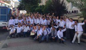 Pronet ekibi güvenlik bilinci için sokakta