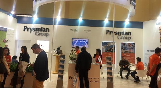 Prysmian Group yeni teknolojilerini Solarex İstanbul'da tanıttı
