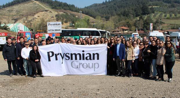 Türk Prysmian Kablo'dan Hatıra Ormanı
