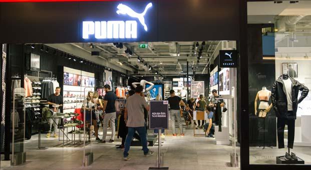 Avrupa'nın en büyük ikinci Puma mağazası İstanbul'da açıldı