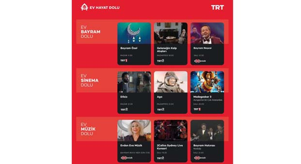 TRT 1, 20'ye yakın ülke ve şehirden Bayram Özel yayını yapacak