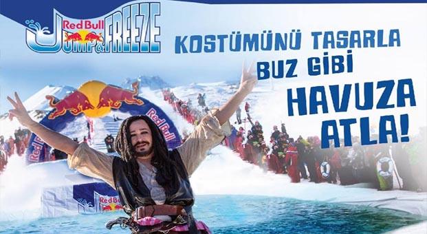 Red Bull Erciyes'te kanatlandıracak