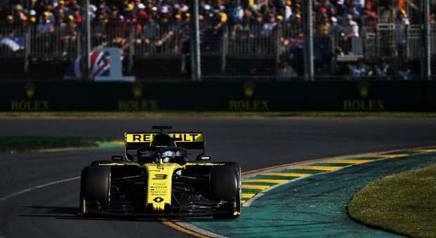 Renault Avustralya'dan puanla döndü