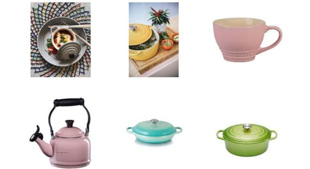 Baharı pastel renk tonlarındaki Le Creuset ürünleri ile karşılayın
