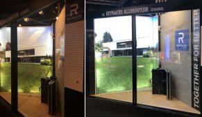 Reynaers'in inovatif ürünü Hi-Finity sürme sistemine mimarlardan büyük ilgi