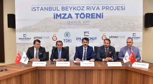 3.8 milyar TL'lik Riva arsası için imzalar atıldı
