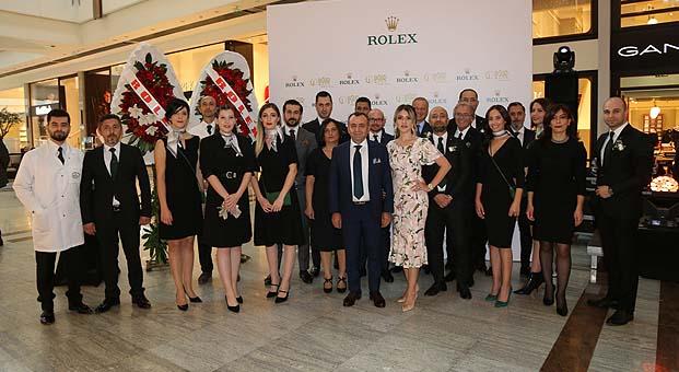 Türkiye'nin en büyük Rolex Butiği Ankara'da