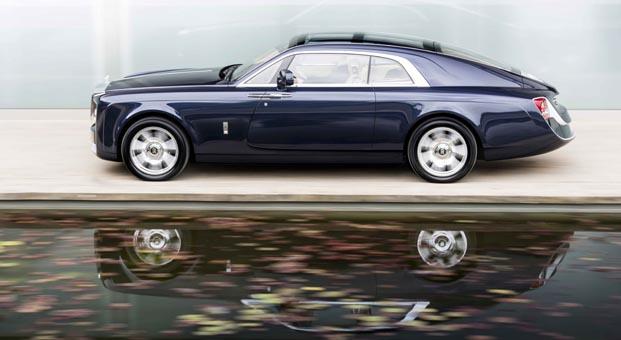 İki kişilik krallara layık başyapı Rolls-Royce Sweptail