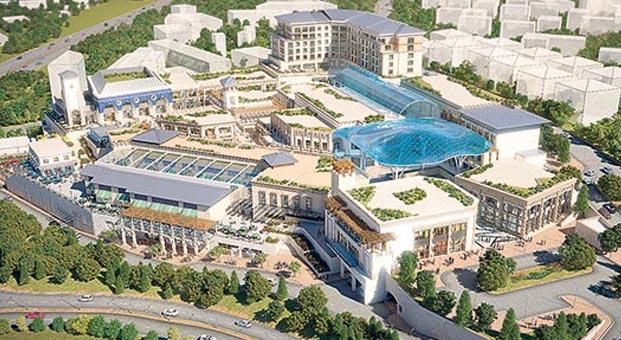 250 milyon euro'ya 'üstü açık' Hilltown AVM geliyor