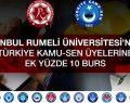 Türkiye Kamu-Sen üyelerine ek yüzde 10 burs