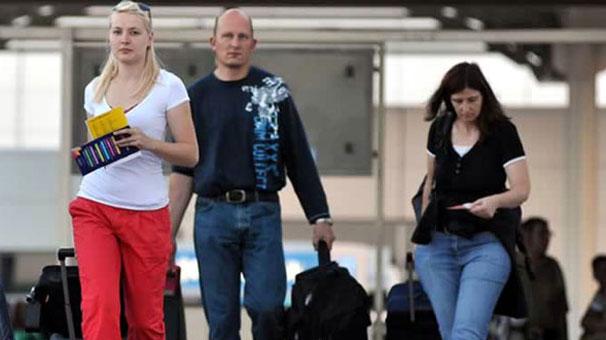 Turist sayısında Rusya etkisi