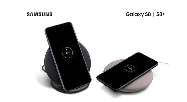 Samsung'tan tasarımı ile fark getiren kablosuz şarj