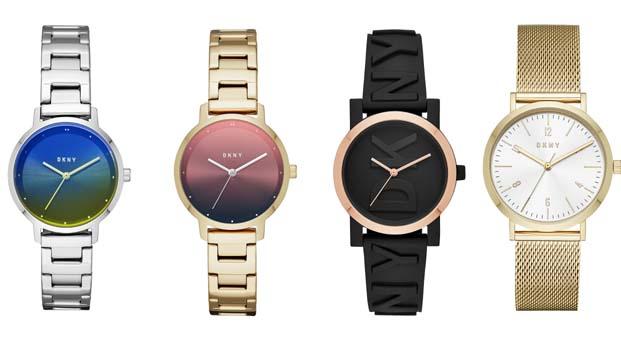 DKNY Saatleri yaz renkleriyle modernize ediliyor