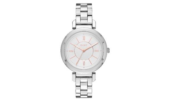 DKNY Ellington saat modeliyle gümüş ışıltısı bileklerinizde