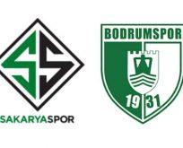Sakaryaspor Bodrumspor maçı ne zaman saat kaçta hangi kanal canlı yayınlıyor?