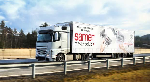 SAMET yeni nesil ürünlerini tüm Türkiye'ye tanıtacak