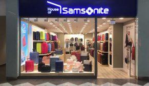 Samsonite Türkiye-Antalya Agora Samsonite mağazası açıldı