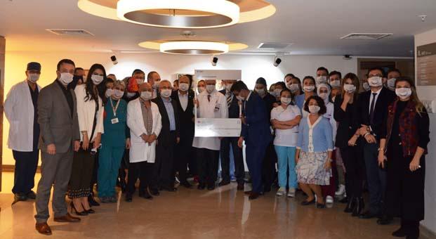 VM Medical Park Samsun Hastanesi Türkiye'nin ilk ıonör bağışçısı özel hastanesi oldu