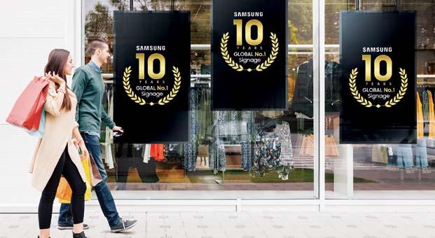 Samsung dijital görüntüleme sistemleri sektöründe on yıldır zirvede