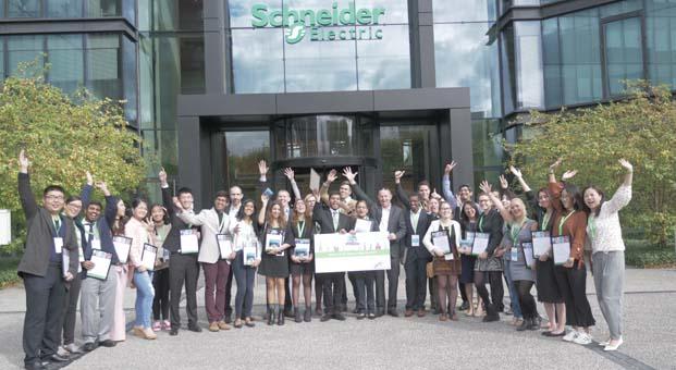 Schneider Electric'in düzenlediği Go Green in the City 2018 yarışmasının hazırlıkları tamamlandı