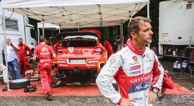 Sebastien Loeb, Citroen C3 WRC ile İspanya'da etaplara geri dönüyor