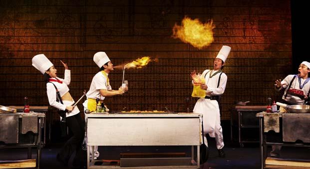 Çılgın şeflerden oluşan NANTA, Broadway'den sonra Türkiye'de